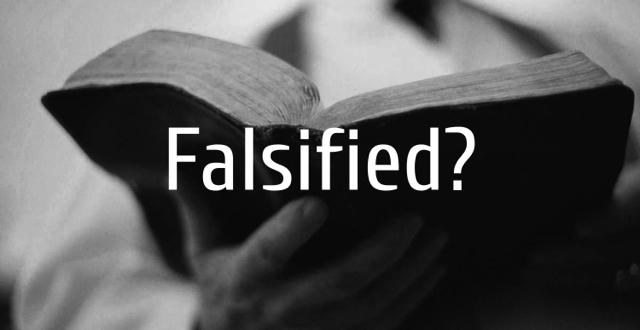Falsified?