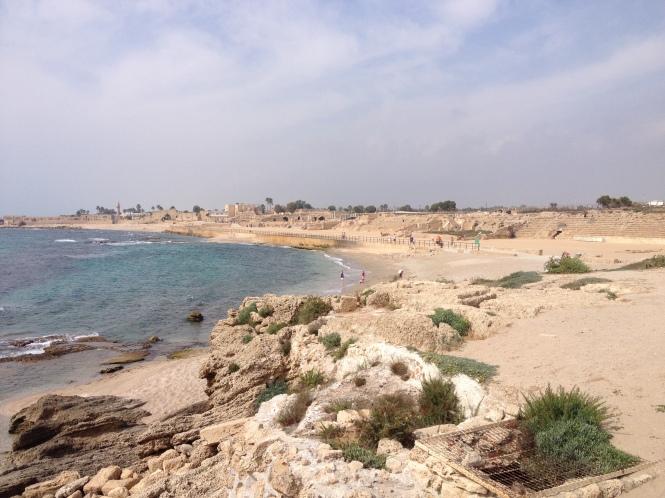 Ruins of Caesarea.