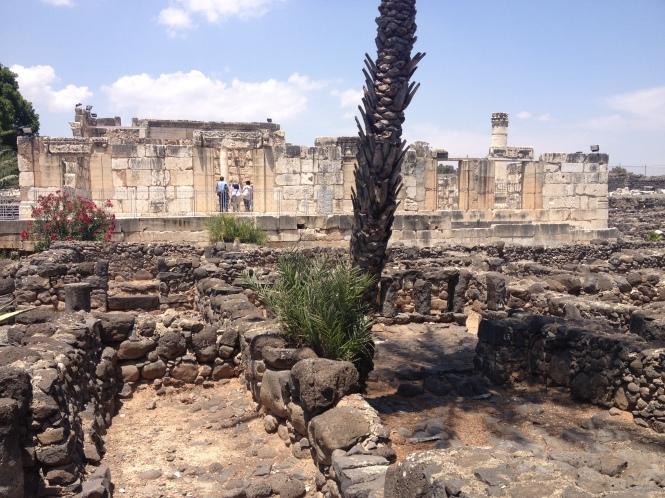 Capernaum ruins.