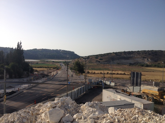 Elah Valley (location of the fight between David and Goliath).