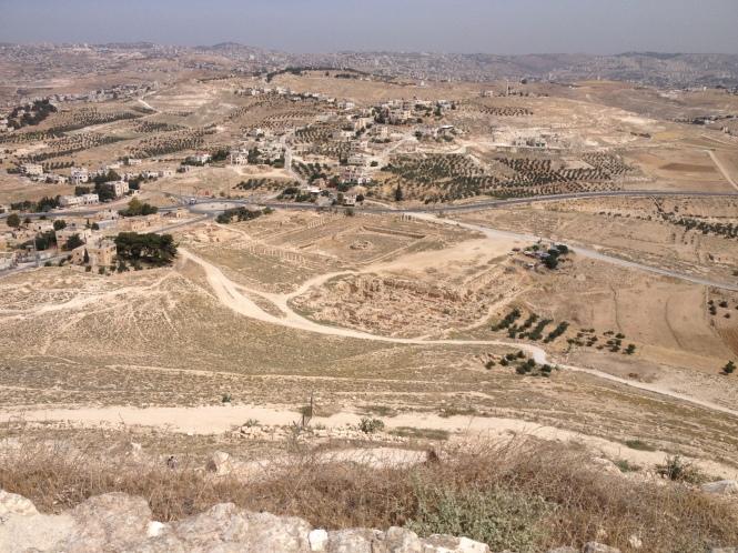 Herodian ruins.