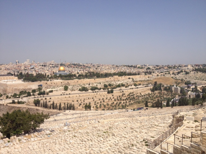 Jerusalem from the Mount of Olives.