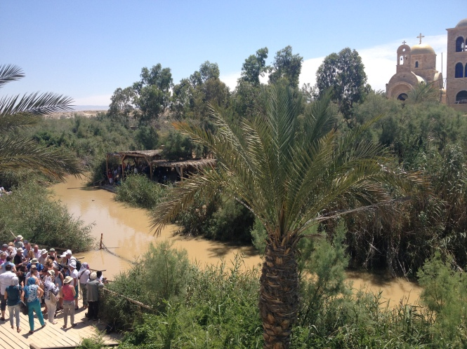 Jordan River (photo taken near the Dead Sea).