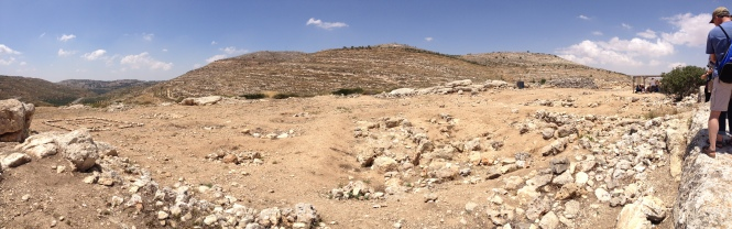Place where the tabernacle was located in Shiloh.