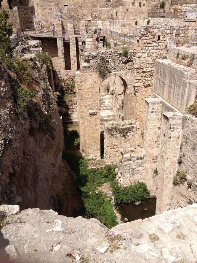 Ruins of the pol of Bethesda.