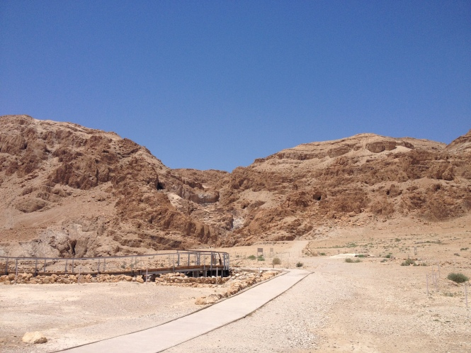 Qumran - Location of the discovery of the Dead Sea Scrolls.