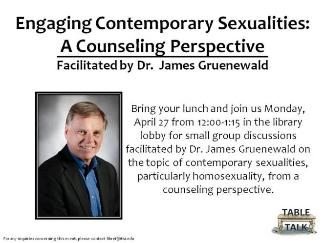Engaging Contemporary Sexualities - Counseling